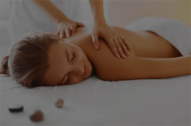 Pod image of girl getting massage.